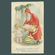 """Santa always remember good Children""  (1917)"