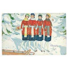 """Winter Fashion""  (1927)"