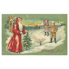 """""""Santa Claus at work""""  (1906)"""