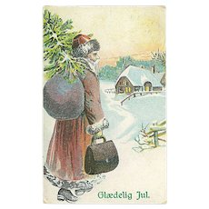 """""""Father Christmas""""  (1910)"""