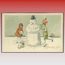 """Snow Man Constructing"" (1928)"