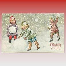 """""""Snowball War""""  (1921)"""