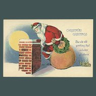 """""""Santa on the Roof""""  (1920')"""