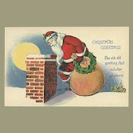 """Santa on the Roof""  (1920')"