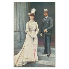 """King George V and Queen Mary"""
