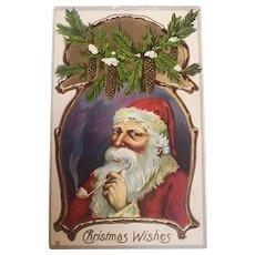 """""""Smoking Santa""""  (1913)"""