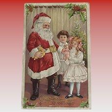 """""""Meeting Santa""""  (1911)"""