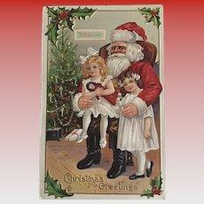 """On Santas Lap""  (1910')"