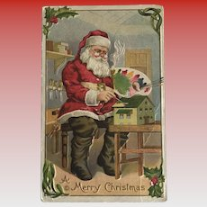 """Artist Santa""  (1910')"