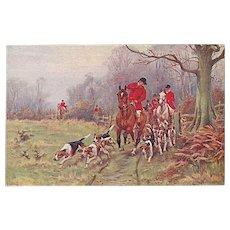 """Traditional British Hunting""  (1916)"
