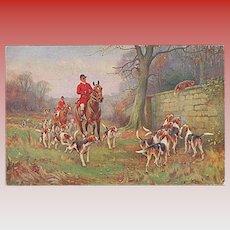 """Fox Hunting""  (1916)"