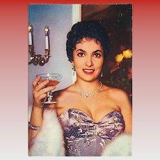 """Gina Lollobrigida""  (1950')"
