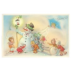 """Mr Snowman""  (1950')"