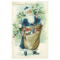 """Father Christmas in Blue""  (1906)"
