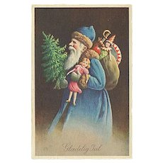 """""""Father Christmas in Blue""""  (1942)"""