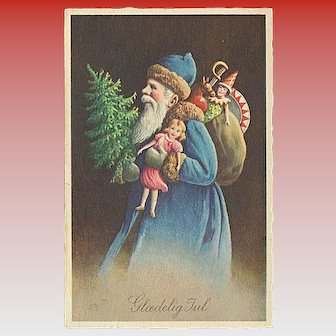 """Father Christmas in Blue""  (1942)"