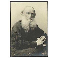 """Real Photo Leo Tolstoj""  (1910')"