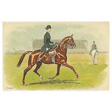 """Horsewoman""  (1920)"