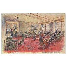 """Liverpool Street Hotel - London""  (1911)"