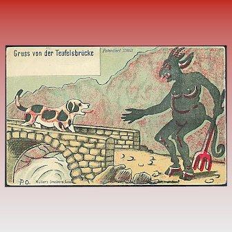 """Devil's Bridge""  (1920')"