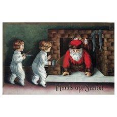 """""""Hands up, Santa""""  (1910')"""