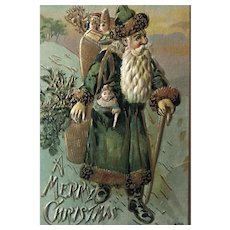 """Father Christmas in Green""  (1910')"