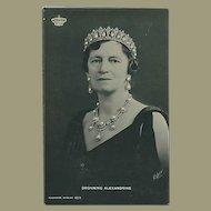 """""""Queen Alexandrine of Denmark""""  (1930')"""