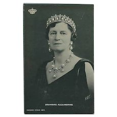 """Queen Alexandrine of Denmark""  (1930')"