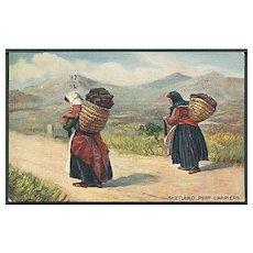 """Shetland Peat Carriers""  (1908)"