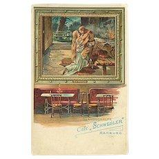 """""""Cafe Schwegler""""  (1950')"""