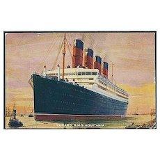 """""""R. M. S. Aquitania""""  (1910')"""