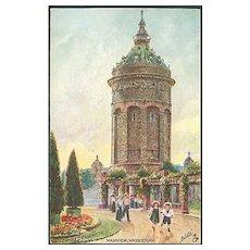 """""""Mannheim Waterworks""""  (1920')"""
