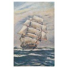 """A stiff Breeze""  (1920')"