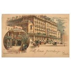 """First Avenue Hotel""  (1906)"