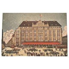 """""""Hotel D'Angleterre Copenhagen""""  (1930')"""