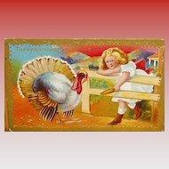 """Girl with Turkey""  (1930')"