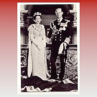 """Queen Elizabeth and Prince Philip""  (1950')"