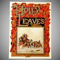 Holly Leaves Magazine 1964 Christmas Edition