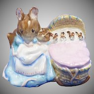 Hunca Munca Figurine Beswick Beatrix Potter