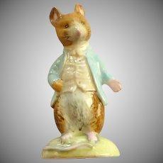 Johnny Town Mouse Figurine Beswick Beatrix Potter