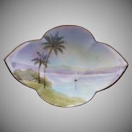 Hand Painted Nippon China Nut Bowl
