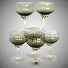 Coronation Smoke Sasaki Crystal Liquor Cocktail Glass