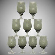 Coronation Smoke Sasaki Crystal Juice Glass