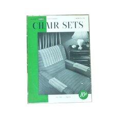 Chair Sets Clark Needlecraft Booklet