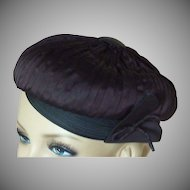 Roberta Bernays Original Tufted Beret Hat – 1960's