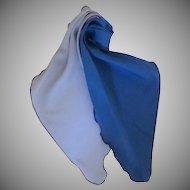 Vintage 1970s  Women's Neck Tie Blue
