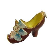 Hand Painted MK Japan China Shoe Slipper