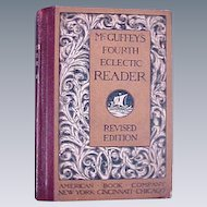 McGuffey's Fourth Eclectic Reader Book