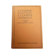 1948 Volume 1 Standard Postage & Stamps Catalogue Book