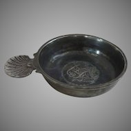 Old Castle England Pewter Porringer Small Shallow Dish